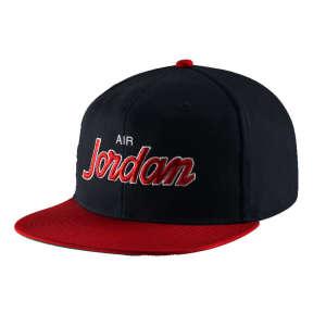 Nike Jordan Pro Script férfi Baseball sapka #fekete-piros