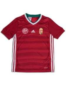 Adidas Performance Hungary Home Jersey Youth gyerek Focimez #piros 31222169 Gyerek focimez