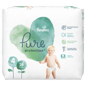 Pampers Pure Protection Pelenka 9-14kg Maxi 4 (28db)