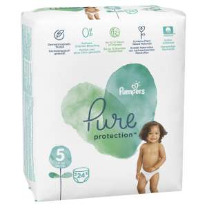 Pampers Pure Protection Pelenka 11-16kg Junior 5 (24db) 31213749 Pelenka