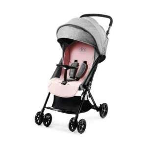 Kinderkraft Lite Up sport Babakocsi #szürke-rózsaszín - Csomagolássérült!