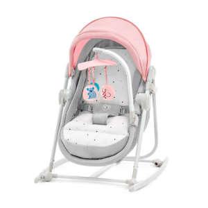 Kinderkraft Unimo 5in1 Pihenőszék #rózsaszín-szürke - Csomagolássérült!