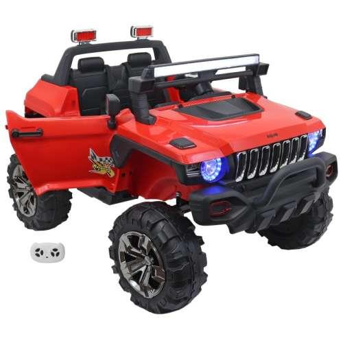 Baby Mix 2 személyes prémium Elektromos terepjáró távirányítóval 12V #piros
