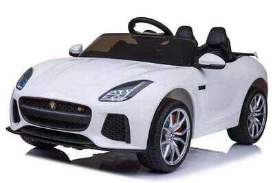 Baby Mix Jaguar Elektromos autó távirányítóval 12V #fehér