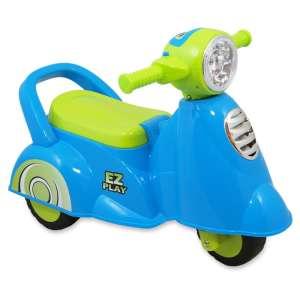 Baby Mix 3 kerekű Kismotor #kék-zöld 31216203 Bébitaxi, kismotor