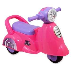 Baby Mix 3 kerekű Kismotor #rózsaszín-lila 31216204 Bébitaxi, kismotor