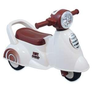 Baby Mix 3 kerekű Kismotor #fehér-barna 31216205 Bébitaxi, kismotor