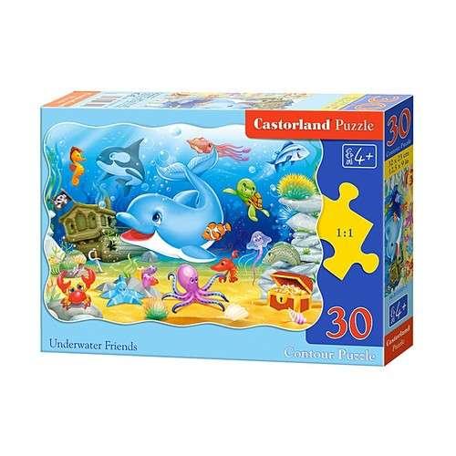 Castorland Puzzle 30 db-os - Víz alatti barátok