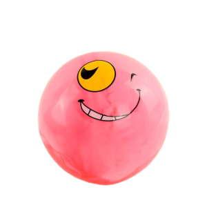 Gumilabda  17cm - Smiley  #rózsaszín 31363559 Szabadtéri játékok és felszerelések