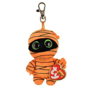 Ty Mask narancssárga kulcstartó plüss – 10 cm 31331295 Kulcstartó gyerekeknek