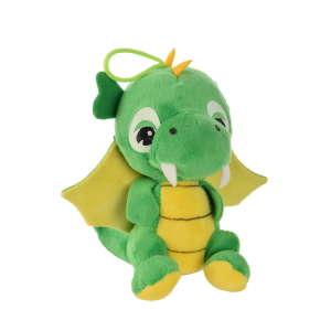 My First Lovely Dragon bársonyos, zöld sárkány plüss – 15 cm 31254620 Plüss