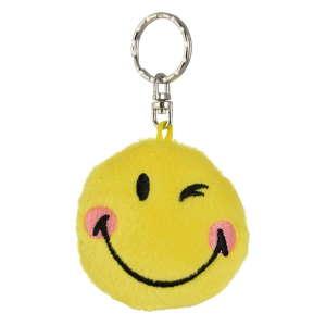 Nici citromsárga plüss smiley kulcstartó 31220667 Kulcstartó gyerekeknek