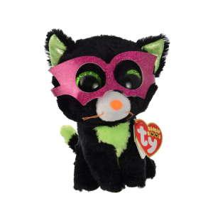 Ty Jinxi maszkos fekete macska plüss – 15 cm 31220716 Plüss