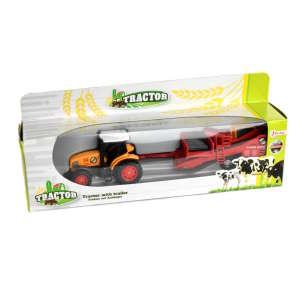 Utánfutós traktor játék – sárga 31221260 Munkagép gyerekeknek