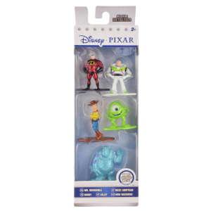 Disney Pixar szereplők fém figurák – 5 db, 5 cm 31221269 Figura