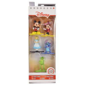 Disney szereplők fém figurák – 5 db, 5 cm 31221270 Figura