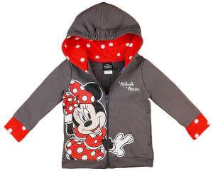Disney Minnie belül bolyhos, kapucnis kardigán pöttyös mintával