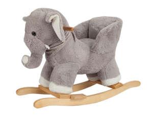 Apollo Hintázó állatka - Elefánt #szürke 31222844 Hintaló, hintázó állatka