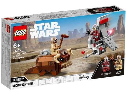 LEGO Star Wars TM 75265 A T-16 Skyhopper(TM) a Buckalakó(TM) ellen Microfighter