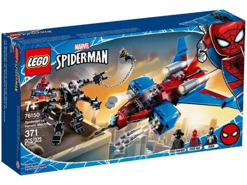 LEGO Super Heroes 76150 Spiderjet Venom robotja ellen