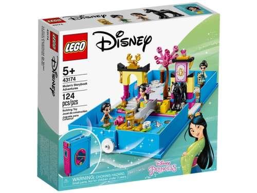 LEGO Disney Princess 43174 Mulan mesekönyve