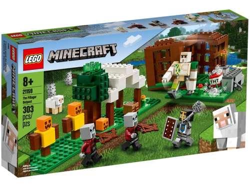 LEGO Minecraft 21159 A Fosztogató őrtorony 31235894