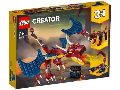 LEGO Creator 31102 Tűzsárkány 31235904