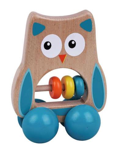 Fa fejlesztő Játék - Bagoly #kék