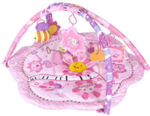 Sun Baby Játszószőnyeg - Virág #rózsaszín