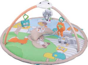 Sun Baby zenélő Játszószőnyeg - Erdei állatok