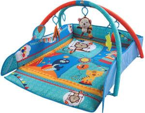 Sun Baby peremes Játszószőnyeg - Cirkusz #kék 31239015 Bébitornázó és játszószőnyeg