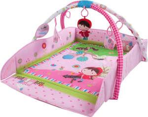 Sun Baby peremes Játszószőnyeg - Piroska #rózsaszín