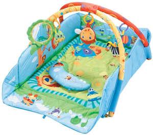 Sun Baby peremes Játszószőnyeg - Szafari #kék 31239023 Bébitornázó és játszószőnyeg
