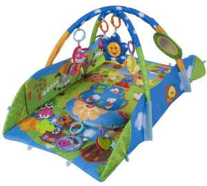 Sun Baby peremes Játszószőnyeg - Farm #kék