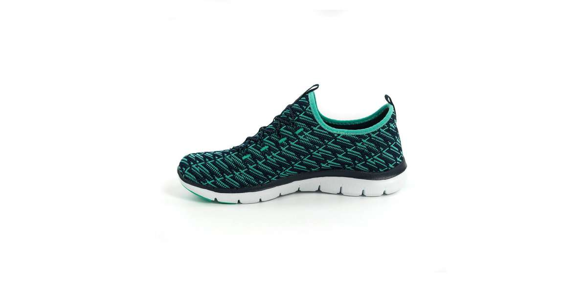 Skechers női Utcai cipő #fekete kék