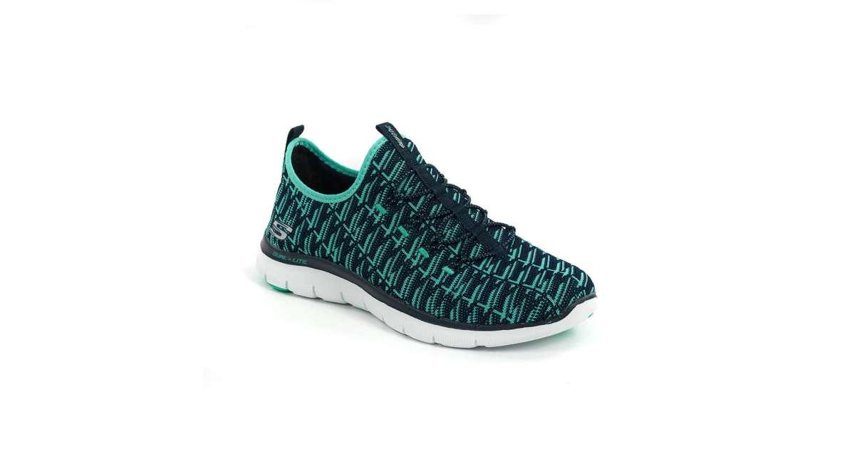 Skechers női Utcai cipő #fekete kék   Pepita.hu