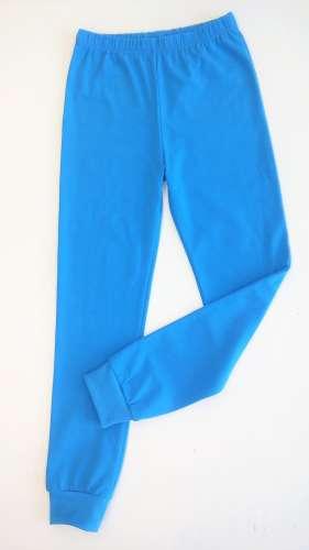 Pamut gyerek nadrág 140cm #kék
