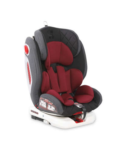 Lorelli Roto ISOFIX Gyerekülés 0-36kg #piros-fekete 2020