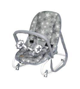 Lorelli Top Relax pihenőszék 0-9kg - Csillag #szürke 2020 31256821 Kinderkraft Pihenőszék és Elektromos Hinta