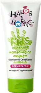 H&H sampon és kondícionáló gyerekeknek, mangó és dinnye illattal - 200 ml 31258262 Test- és hajápolás