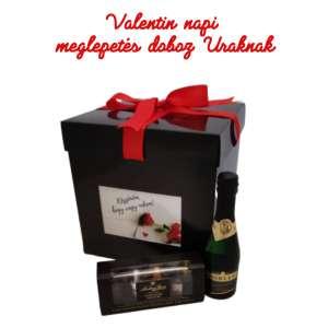Valentin napi ajándékcsomag Uraknak fényképeiddel a dobozon 31263624 Ajándékdoboz