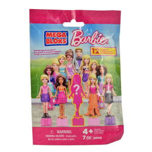 Mega Bloks Barbie meglepetés Figura 31265598 Mesehős figura