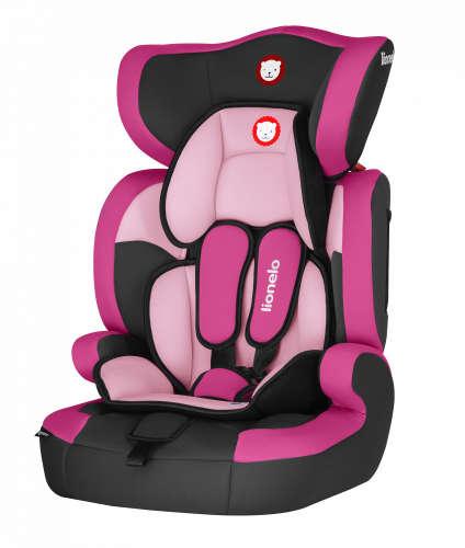 Lionelo Levi One biztonsági Gyermekülés 9-36kg #rózsaszín