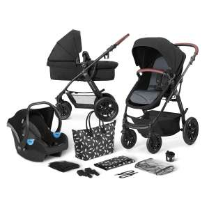 Kinderkraft XMoov PRO 3in1 multifunkciós Babakocsi #fekete 31437655 Babakocsi