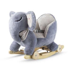 Kinderkraft 2in1 Hintázó állatka - Elefánt #szürke-kék 31269499 Hintaló, hintázó állatka