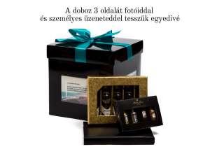 Pálinkás ajándékcsomag fotóiddal az ajándékdobozon 31273861 Ajándékdoboz