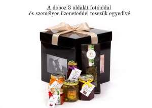 Kézműves élelmiszerek egyedi, fényképeddel díszített dobozban  31273895 Ajándékdoboz