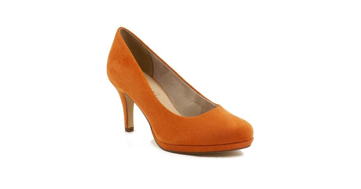 Tamaris női Alkalmi cipő #narancssárga   Pepita.hu
