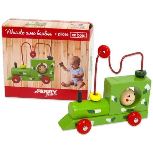 Zöld fa vonat készségfejlesztő játék 31378390
