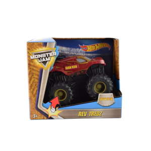 Hot Wheels Monster Jam lendkerekes autó – 10 cm, Iron Man 31275547